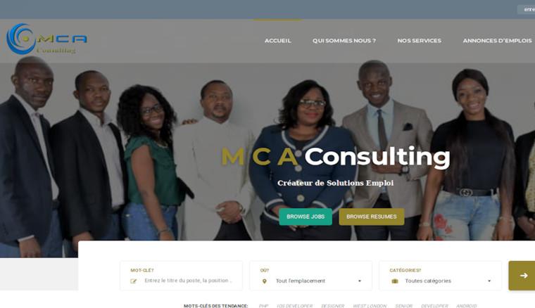 Mise en Place d'une CV-thèque pour MCA Consulting